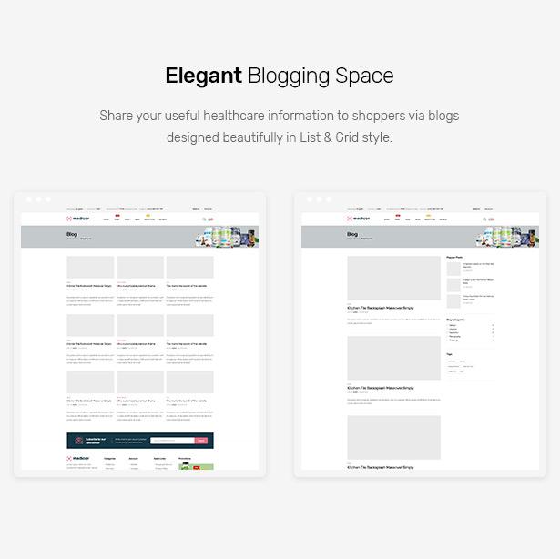 Medicor - Medical Clinic & Pharmacy WooCommerce WordPress Theme
