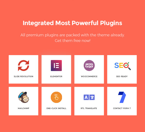 Included Plugins in Startor Best Business WordPress Theme For Startups