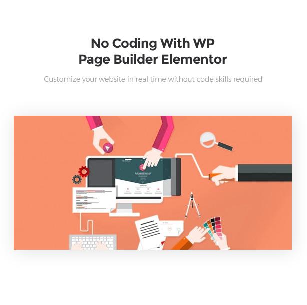 Advanced WordPress Page Builder Elementor Startor Startup Business WordPress Theme